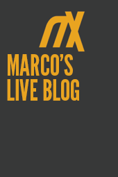 Marco's Live Blog