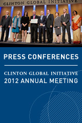 CGI 2012 Press Conferences