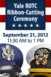 Yale ROTC Ribbon-Cutting Ceremony