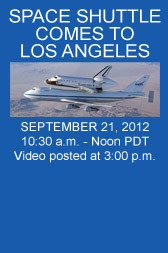 Endeavour Comes to Los Angeles