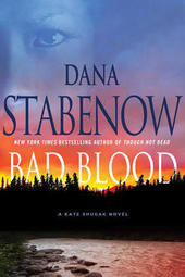 Dana Stabenow signs BAD BLOOD