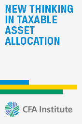 New Thinking in Taxable Asset Allocation
