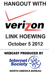 ISOC NA Hangout with VERIZON