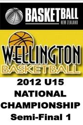 Basketball 2012 U15 Semi-final 1