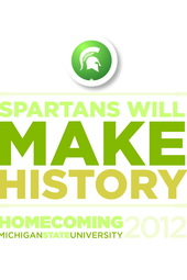 MSU Homecoming Parade 2012