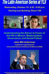 THE MEXICAN 2012 PRESIDENTIAL ELECTION &amp; THE RETURN OF THE PRI