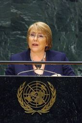 Michelle Bachelet: The Role of Women's Health in Economic Development