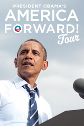 President Obama's America Forward! Tour: Davenport, IA