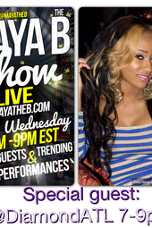 the Maya the B show w/ Diamond in the Diamond Room!