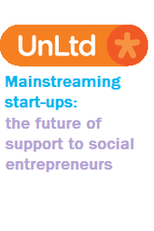 Mainstreaming start-ups; the future of support to social entrepreneurs
