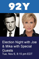"Election Night with Joe & Mika of MSNBC's ""Morning Joe"""