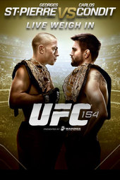 UFC 154 Live Weigh-in