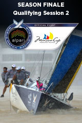 Qualifying Session 2, Monsoon Cup, Season Finale ALPARI World Match Racing Tour