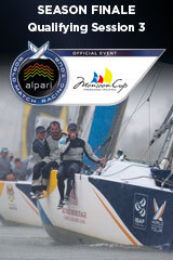 Qualifying Session 3, Monsoon Cup, Season Finale ALPARI World Match Racing Tour