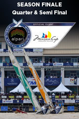 Quarter & Semi Final, Monsoon Cup, Season Finale ALPARI World Match Racing Tour
