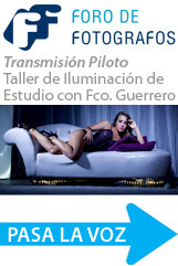Emisión Piloto: Taller de Iluminación de Estudio con Francisco Guerrero