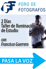 Taller de Iluminación de Estudio con Francisco Guerrero