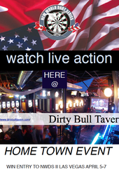 New World Dart Series Hometown Event Live from The dirty Bull Tavern