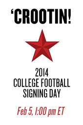 'Crootin: 2014 College Football Signing Day LIVE