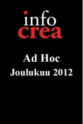 Infocrea Ad Hoc - Joulukuu 2012