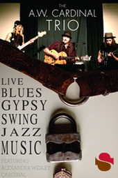 A.W. Cardinal Trio w/ Jasmine Ohlhauser @ Streaming Cafe