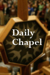 Chapel Jan 16, 2013