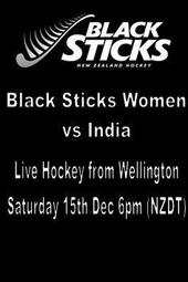 Black Sticks Women vs India (Sat 15th)