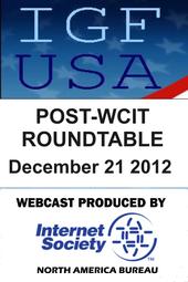 IGF Post-WCIT Roundtable