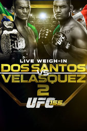 UFC 155 Live Weigh-in
