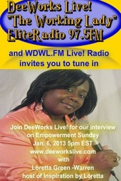 Loretta Green Warren on DeeWorks Live!