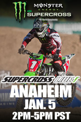 Supercross LIVE! from Anaheim - Jan. 5, 2013