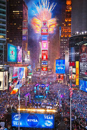 2014 New Year's Eve #BallDrop