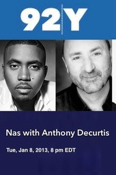 Nas with Anthony DeCurtis