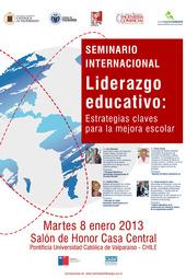 """II Seminario Internacional """"Liderazgo Educativo: Estrategias claves para la mejora escolar"""""""