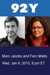 Marc Jacobs with Fern Mallis