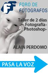 Taller Profesional de Fotografía y Photoshop con Alain Perdomo