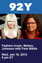Betsey Johnson with Fern Mallis