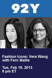 Vera Wang with Fern Mallis
