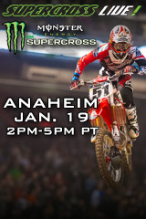 Supercross LIVE! from Anaheim - Jan. 19, 2013