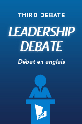 Leadership Debate - Débat en anglais