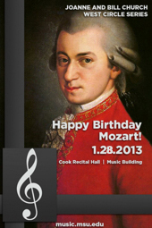 Happy Birthday Mozart! | West Circle Series