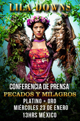 Lila Downs - Conferencia de Prensa