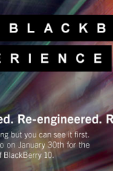 RIM BlackBerry 10 Experience Event Live Blog