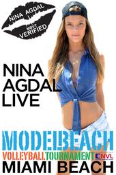 Nina Agdal Live @ MBVT