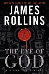 James Rollins signs THE EYE OF GOD