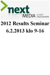 TIVIT Next Media 6.2.2013