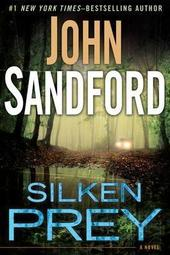 John Sandford signs SILKEN PREY