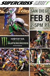 REPLAY - San Diego - Feb. 8, 2014 - Supercross LIVE!