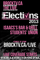 BUSU Elections 2013 Debate #3 LIVE from Isaac's