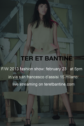 Ter et Bantine Live Fashion Show Fall/Winter 2013